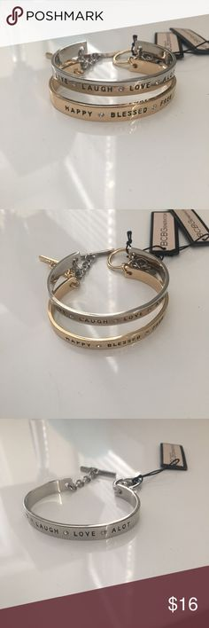 • BCBG Gold & Silver Bangle Bracelet • NWT | Never Worn | Please message me which color you want BCBG Jewelry Bracelets