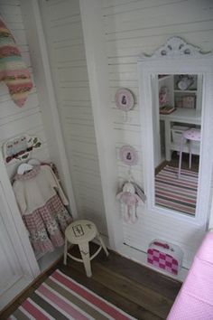Traditional Indoor Playhouse Kids Design Ideas, Pictures, Remodel and Decor Toddler Playhouse, Kids Indoor Playhouse, Build A Playhouse, Wooden Playhouse, Playhouse Interior, Playhouse Furniture, Playhouse Decor, Playhouse Ideas, Cubby Houses
