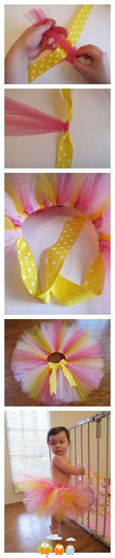 45 DIY Tutu Tutorials for Skirts and Dresses                              …