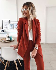 43 office outfits underline the independent side of women - VimDecor -. - 43 office outfits underline the independent side of women – VimDecor – 43 office outfits highli - Mode Outfits, Fashion Outfits, Womens Fashion, Insta Outfits, Fashion Clothes, Fashion Fashion, Retro Fashion, Korean Fashion, Chic Outfits