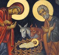 The Nativity Fast and Orthodox Tradition For us, the Nativity Fast serves to refresh the last part of the year - mystically renewing our spiritual unity with God and preparing us for the Feast of the. Byzantine Icons, Byzantine Art, Religious Icons, Religious Art, Religion, Jesus Pictures, Catholic Art, Christmas Nativity, Orthodox Icons