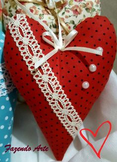 Valentine Special, Valentines Day, Fabric Hearts, Christmas Quilting, Thread Art, Heart Crafts, Love Is All, Decoration, My Heart