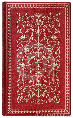 Antique Book Cover, 1907 Stock Photo - Image: 1954530