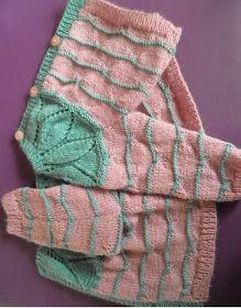 El PUNTO MARIPOSA, es muy adecuado para prendas de bebé y yo lo he elegido para aplicarlo en esta chaqueta bicolor TALLA 6 MES... Knitting For Kids, Baby Knitting, Shibori, Diy Clothes, Fingerless Gloves, Arm Warmers, Knit Crochet, Little Girls, Baby Boy