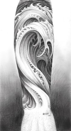 Biomechanical tattoo for the forearm