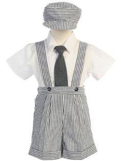 Boys Charcoal Seersucker 4 Pc Suspender Shorts - 2T Lito http://www.amazon.com/dp/B00I3VFZG2/ref=cm_sw_r_pi_dp_-YOqvb1HKHP7Z