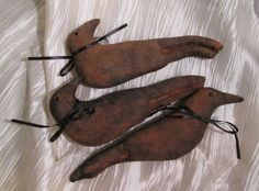Free How to Make Primitive Grunged Crows/Ravens and Bats — Addition #3 to original article #silverravenwolf
