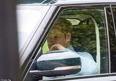 Prince Harry leaves self-isolation after five days in quarantine at Frogmore Cottage Diana Statue, Harry And Meghan News, Kew Gardens, Prince Harry, Royalty, Range Rover, Meghan Markle, Santa Barbara, Mail Online