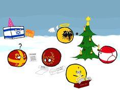 Polandball Advent Calendar 2016 - Day 4 - Christmas In Heaven