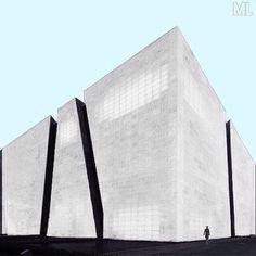 This is a fantastic picture taken by @ema_eye .  #minimal #design #minimalist #colorblock #architecture #urban #industrial #industrialdesign #geometric #simplicity #mood #archilovers #vaporart #internetart #modernart #contemporaryart #interesting #digitalart #style