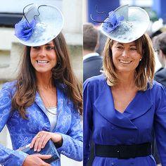 HATS OFF   photo | Carole Middleton, Kate Middleton