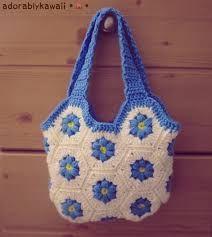 Resultado de imagem para easy crochet bag