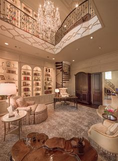 Home Office Luxury Dream Closets Ideas For 2019 Luxury Homes Dream Houses, Luxury Life, Luxury Living, Mansion Interior, Luxury Interior, Home Interior Design, Old Mansions Interior, Mansion Rooms, Castle Rooms