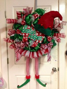 Santa's Helper Wreath