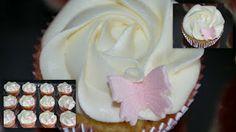 Anettes Kaker: Vaniljecupcakes med Philadelphia-frosting