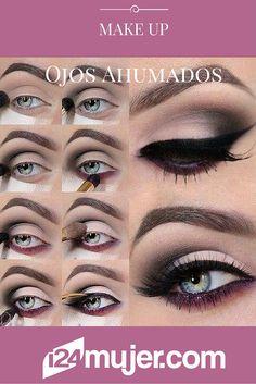 ¡Destaca tu mirada con este hermoso #MakeUp de ojos ahumados!