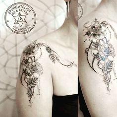 #poppytattoo #poppy #botanic #tattoo #marieroura #epureatelier #tattooartist