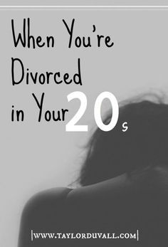 Divorced no interest in dating after divorce