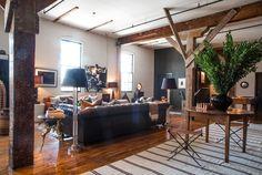 Scott & Kristan's Inspiring Arts District Loft — House Tour   Apartment Therapy