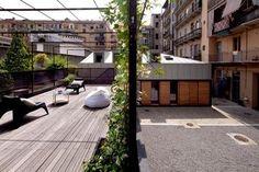 Réalisé par l'agence MARIKA GUERRAZZI ARCHITECTE D.P.L.G.      Extension d'une villa - Terrasse    Retrouvez les réalisations de l'agence sur Archidvisor
