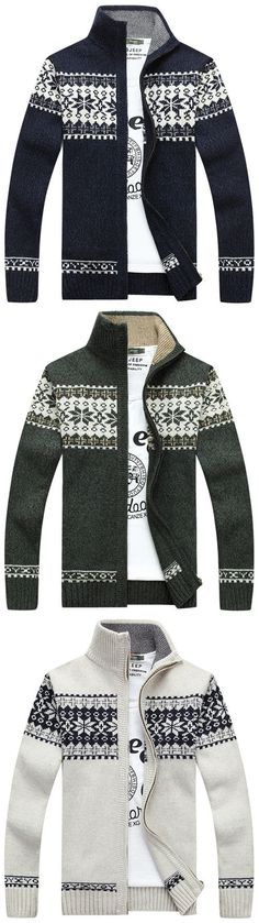 Donegal 1/4 Qtr Buttoned Neck Irish traditional apparel Fair Isle ...