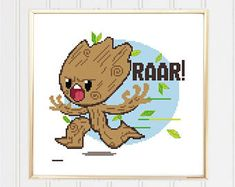 Image result for Free Guardian of the galaxy cross stitch patterns
