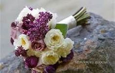 would add lily of the valley Purple Spring Flowers, Spring Flower Bouquet, Spring Wedding Bouquets, Our Wedding Day, Wedding Events, Dream Wedding, Wedding Ideas, Wedding Fun, Wedding Things