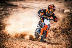 Motos de motocross para niños de KTM 2017