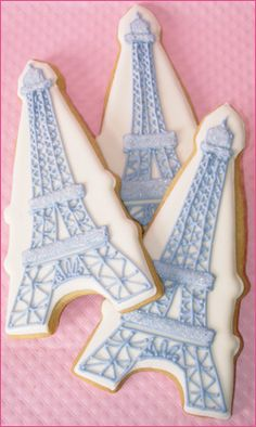 Eiffel Tower Cookie Favors