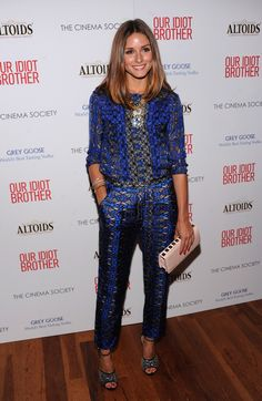 "Olivia Palermo Photos: The Cinema Society & Altoids Host A Screening Of ""Our Idiot Brother"""