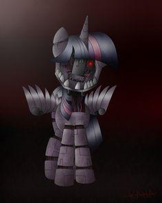 Animatronic Twilight by Kana-The-Drifter on DeviantArt