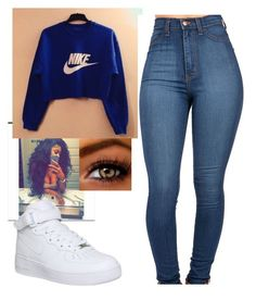 """Untitled #75"" by girliegurl247 ❤ liked on Polyvore featuring NIKE"