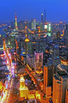 Shanghai, China ... # 8 Top City in Asia for Vacation Destination.