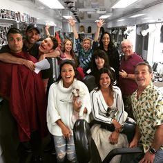 "Jane the Virgin really is one big happy family! 32 Photos Of The ""Jane The Virgin"" Cast Hanging Out In Real Life Movies Showing, Movies And Tv Shows, Justin Baldoni, Gina Rodriguez, Best Series, Tv Series, Scene Photo, Celebs, Celebrities"