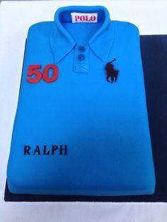 #polo shirt cake# birthday cakes dublin