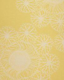 Tapet Portobello Yellow från Rapture & Wright Portobello, Display, Yellow, Wallpaper, Floor Space, Billboard, Wallpapers, Gold
