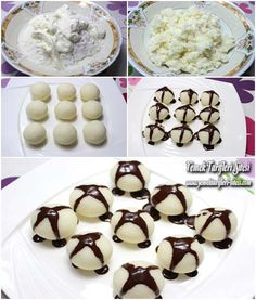 Kartopu Tatlısı Tarifi Chocolate Recipes, Chocolate Cake, Pastry Cake, Ice Cream Recipes, Yogurt, Tart, Cereal, Food And Drink, Pudding
