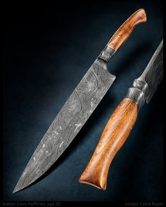 Photos Liam Hoffman: Damascus Chefs Knife