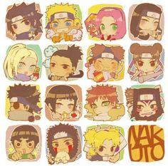 Cute chibi Naruto Character