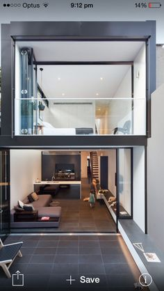 The term duplex comes from double or duplicate. This means that a duplex house is nothing more than a building style with two or more floors connected by Duplex House, Loft House, Loft Design, Modern House Design, Design City, Terrace Design, Casas Containers, Narrow House, Minimalist Home