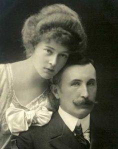 Hans Veit, comte à Toerring-Jettenbach (1862-1929) et la duchesse Sophie en Bavière (1875-1957)