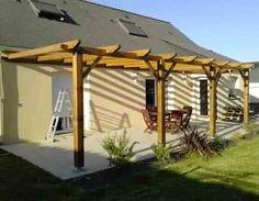 Backyard Pergola With Bar - - - Pergola Canopy Shades
