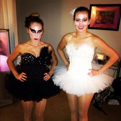 Black Swan DIY Costumes, this is more for me then the kids but oh well