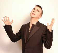Marc Almond from the 80's pop music group Soft Cell