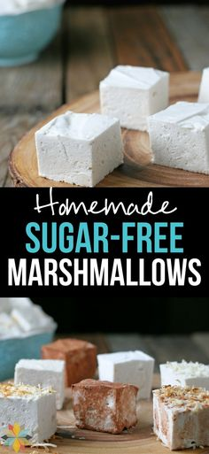 Homemade Marshmallows are super fun to make and have no artificial flavors or colors. Now can make them Sugar-free too! via @wholenewmom