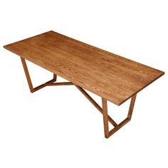 Tricolor Dining Table, Walnut Wood   Modern Dining Table by Fine Mod Imports at Contemporary Modern Furniture  Warehouse - 1