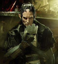 Chris Eccleston as Malekith in Thor: The Dark World