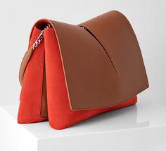 Un sac en cuir JIL SANDER