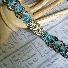 Beaded micro macrame bracelet with owls. Macrame jewelry.. $28.99, via Etsy.