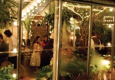 Greenhouse restaurant in Glenn Mills, PA. I want to go right now and live there.